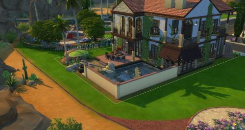 Casa Granada Reno at ChiLLis Sims image 2235 Sims 4 Updates