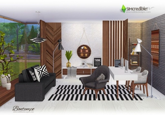 Bontempo livingroom at SIMcredible! Designs 4 image 2243 670x467 Sims 4 Updates