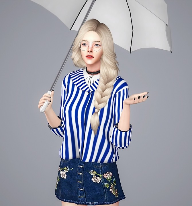 F Vicky top at Meeyou image 23111 670x722 Sims 4 Updates