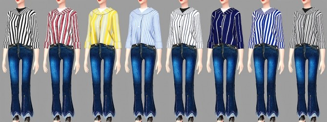 F Vicky top at Meeyou image 2334 670x250 Sims 4 Updates