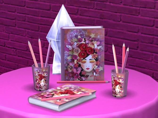 Romantic Writer set at Soloriya image 2344 670x503 Sims 4 Updates