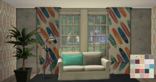Sims 4 RC sympxls Sheer Curtain at ChiLLis Sims