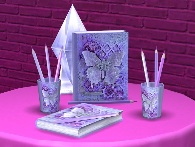 Romantic Writer set at Soloriya image 2363 670x503 Sims 4 Updates