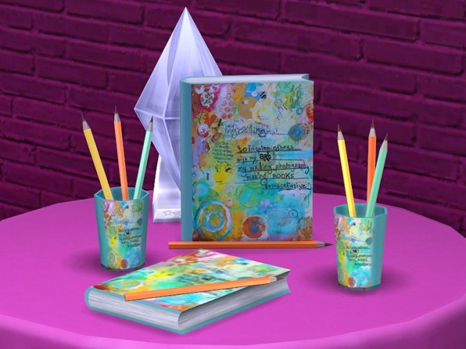 Romantic Writer set at Soloriya image 2373 670x503 Sims 4 Updates