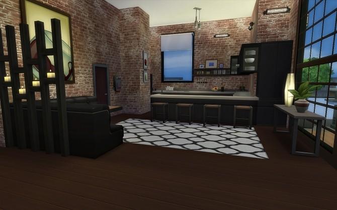 Sims 4 House 28   Cobertura das Artes at Via Sims