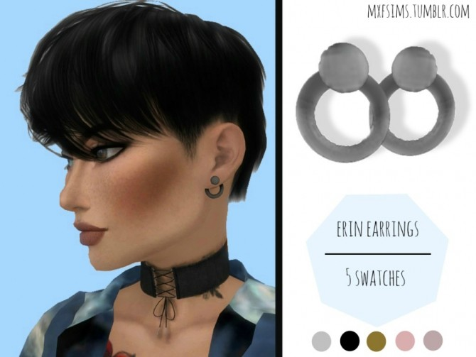 Erin Earrings at MXFSims image 2492 670x503 Sims 4 Updates