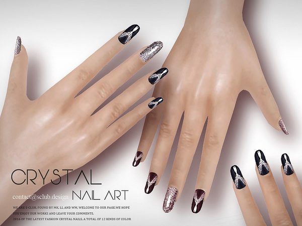 Nail Art N08 by S Club LL at TSR image 2625 Sims 4 Updates