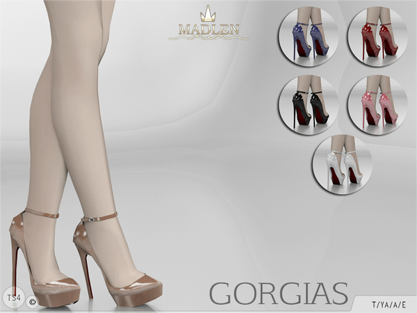Madlen Gorgias Shoes by MJ95 at TSR image 2815 Sims 4 Updates