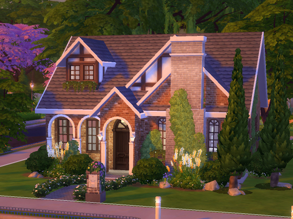 Sims 4 Family Cottage by melcastro91 at TSR