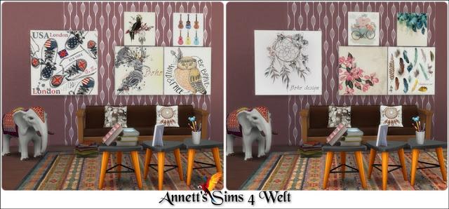 40 Modern Art Paintings Part 2 at Annett's Sims 4 Welt image 2871 Sims 4 Updates