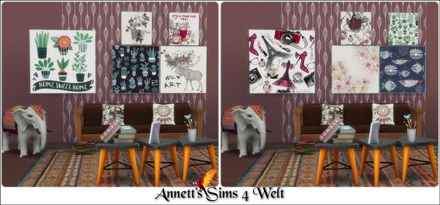 40 Modern Art Paintings Part 2 at Annett's Sims 4 Welt image 2881 Sims 4 Updates
