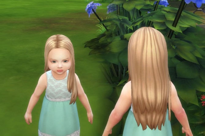 Glossy Hair for Toddlers at My Stuff image 2911 670x446 Sims 4 Updates