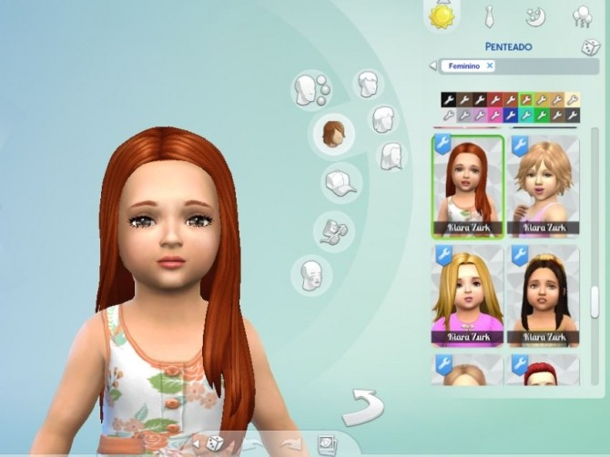 Glossy Hair for Toddlers at My Stuff image 2921 670x502 Sims 4 Updates