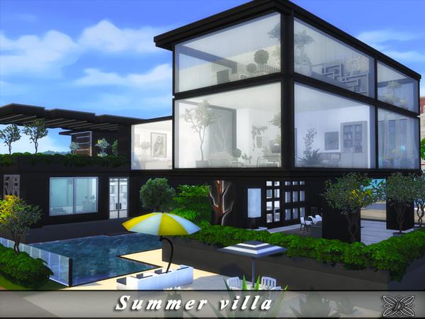 Summer villa by Danuta720 at TSR image 3014 Sims 4 Updates