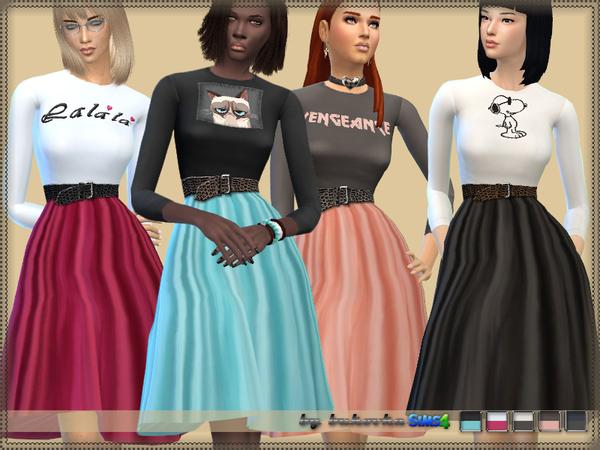 Dress Sport Chic by bukovka at TSR image 308 Sims 4 Updates