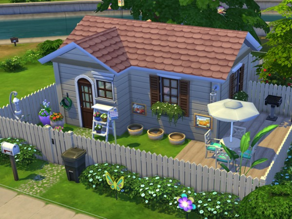Crazy Amp Colorful Home By Flubs At Tsr 187 Sims 4 Updates