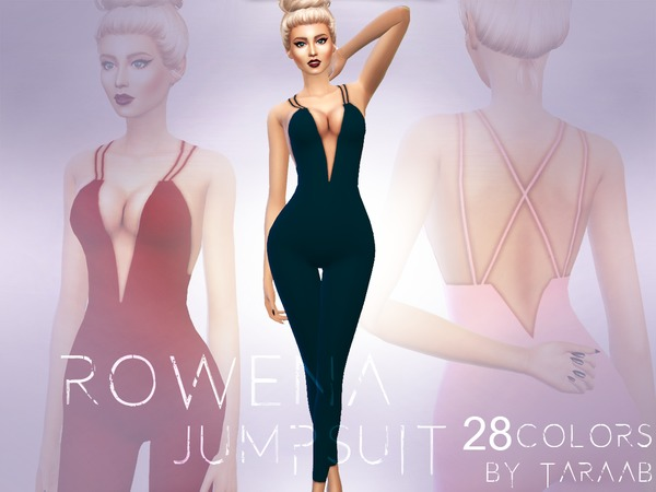 Rowena Jumpsuit by taraab at TSR image 3112 Sims 4 Updates