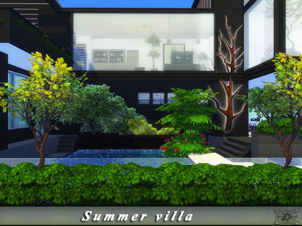 Sims 4 Summer villa by Danuta720 at TSR