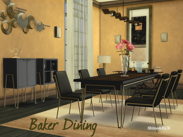 Dining Baker by ShinoKCR at TSR image 318 Sims 4 Updates