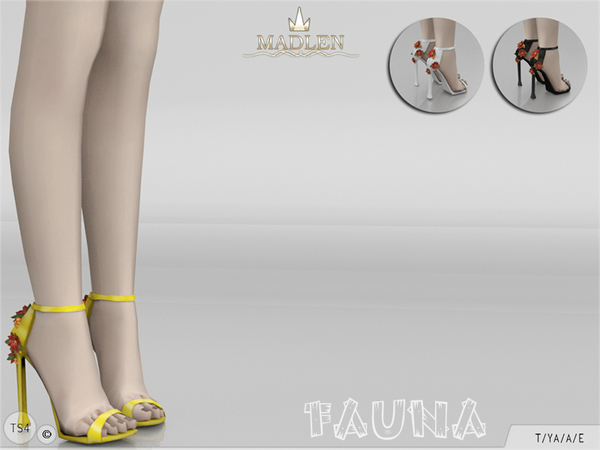 Madlen Fauna Shoes by MJ95 at TSR image 319 Sims 4 Updates