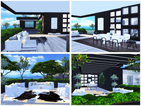 Summer villa by Danuta720 at TSR image 3216 Sims 4 Updates