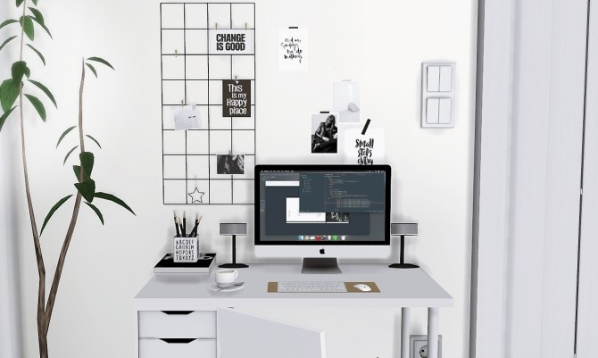 Mono Workstation at MXIMS image 3261 670x401 Sims 4 Updates
