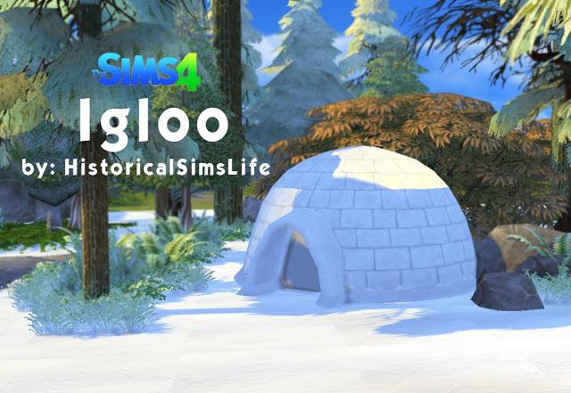 Igloo at Historical Sims Life image 3411 Sims 4 Updates
