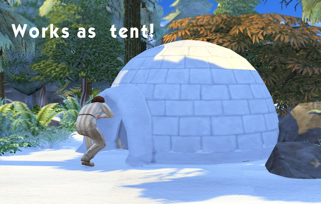 Igloo at Historical Sims Life image 3421 Sims 4 Updates