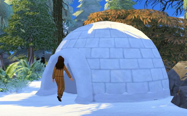 Igloo at Historical Sims Life image 3431 Sims 4 Updates