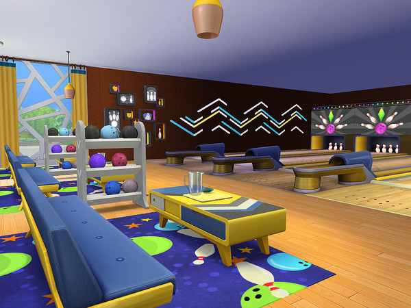 Pauanui Bowling Alley by sharon337 at TSR image 352 Sims 4 Updates
