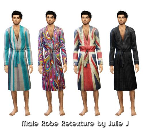 Male Robe Retextured at Julietoon – Julie J image 3541 Sims 4 Updates