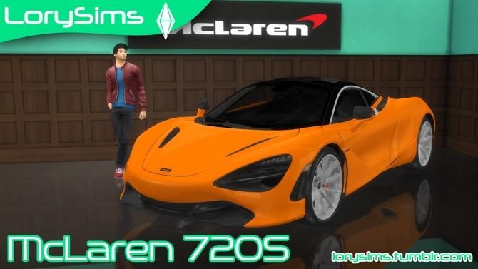 McLaren 720S at LorySims image 3561 670x377 Sims 4 Updates