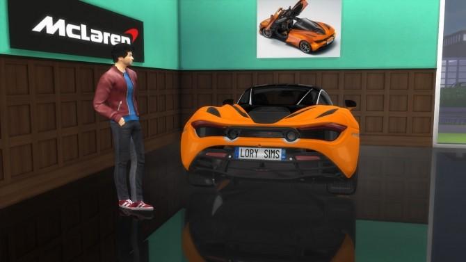 McLaren 720S at LorySims image 3581 670x377 Sims 4 Updates