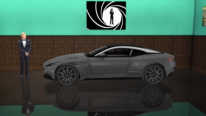Aston Martin DB11 at LorySims image 3651 670x377 Sims 4 Updates
