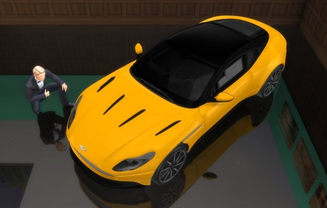 Aston Martin DB11 at LorySims image 3661 670x427 Sims 4 Updates
