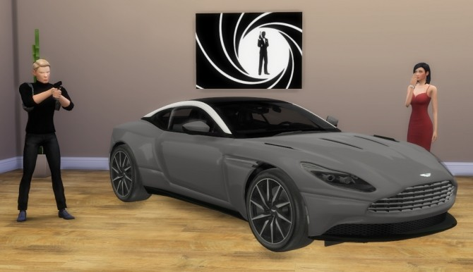 Aston Martin DB11 at LorySims image 3671 670x386 Sims 4 Updates