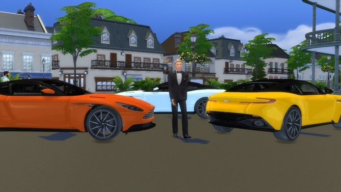 Aston Martin DB11 at LorySims image 370 670x377 Sims 4 Updates