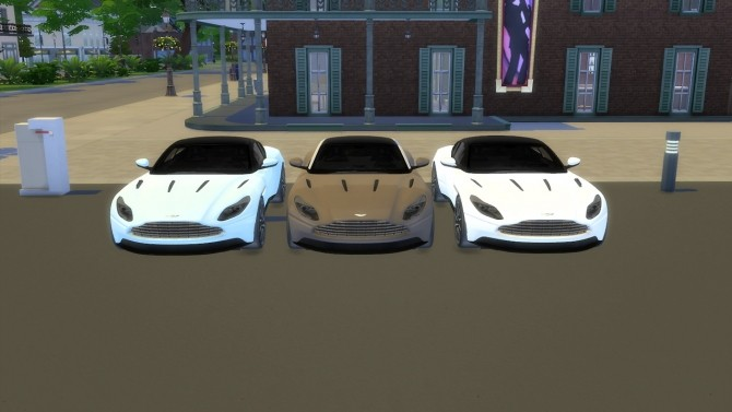 Aston Martin DB11 at LorySims image 3721 670x377 Sims 4 Updates