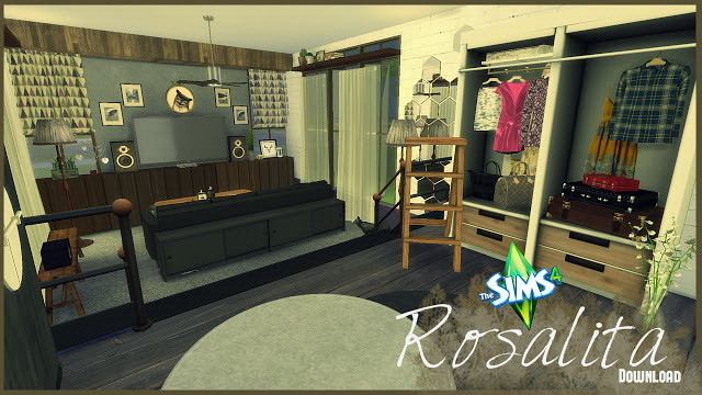 Rosalita living room at Pandasht Productions image 374 Sims 4 Updates