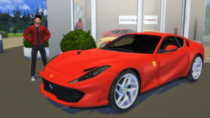 Ferrari 812 Superfast at LorySims image 3741 670x377 Sims 4 Updates