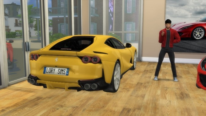 Ferrari 812 Superfast at LorySims image 3761 670x377 Sims 4 Updates