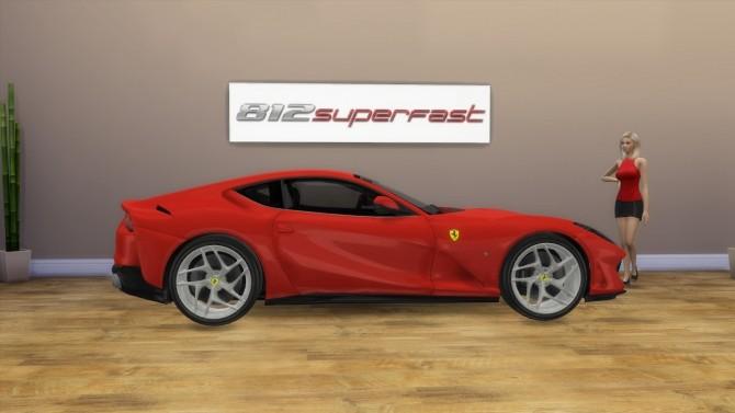 Ferrari 812 Superfast at LorySims image 3781 670x377 Sims 4 Updates