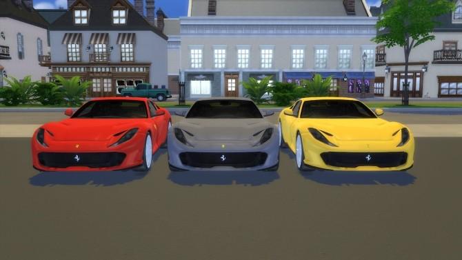 Ferrari 812 Superfast at LorySims image 3811 670x377 Sims 4 Updates