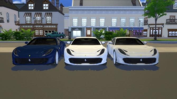 Ferrari 812 Superfast at LorySims image 3821 670x377 Sims 4 Updates