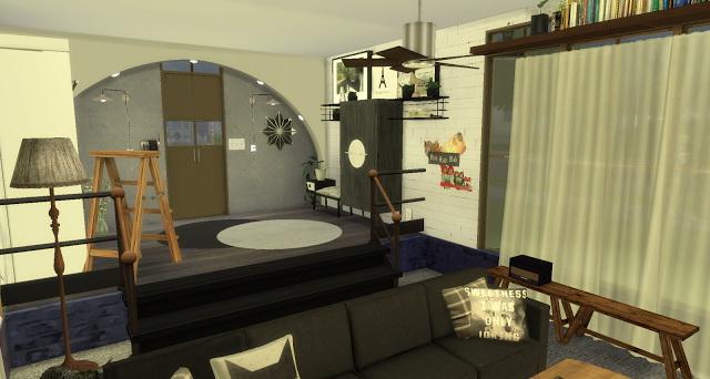 Sims 4 Rosalita living room at Pandasht Productions