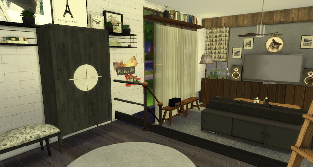 Rosalita living room at Pandasht Productions image 393 Sims 4 Updates