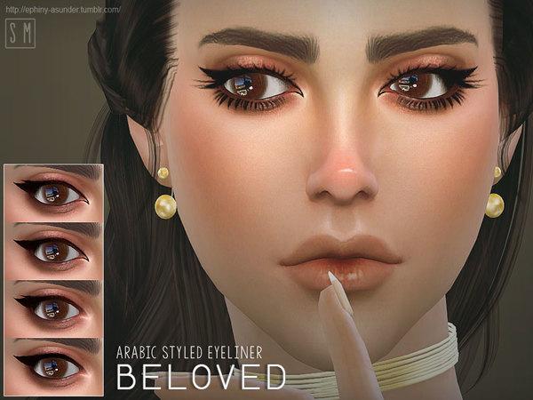 Beloved Eyeliner by Screaming Mustard at TSR image 4 Sims 4 Updates