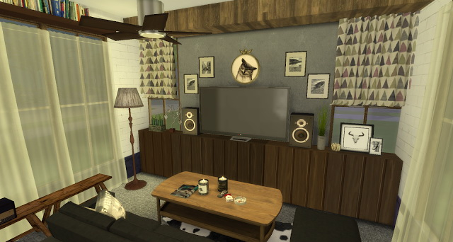 Rosalita living room at Pandasht Productions image 404 Sims 4 Updates