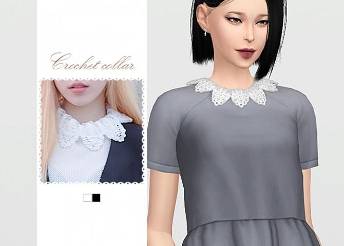 Crochet Collar at Waekey image 4091 670x479 Sims 4 Updates
