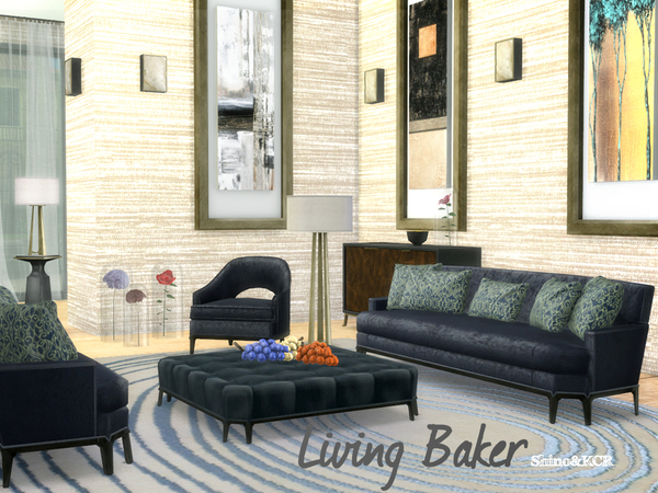 Sims 4 Living Baker by ShinoKCR at TSR
